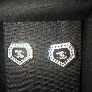 Chanel earrings ,new in original box , beautiful